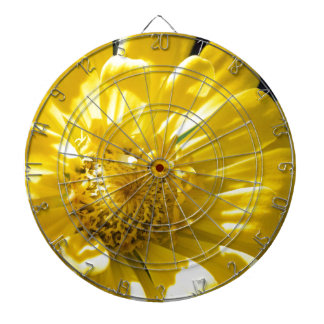 Bright Yellow Flower (Gift) Dartboards