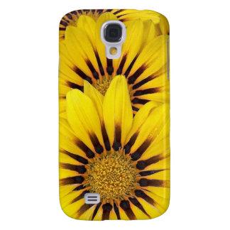 Bright Yellow Gazania Blossom iPhone3 Case Samsung Galaxy S4 Cover