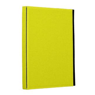Bright Yellow iPad Case