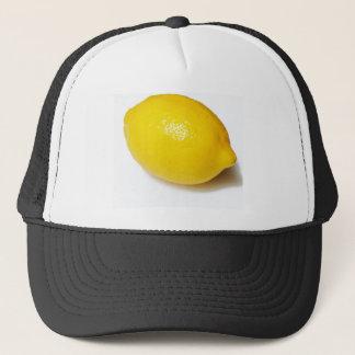Bright Yellow Lemon Trucker Hat