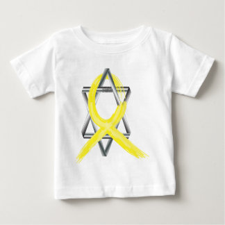 Bright Yellow Liver Cancer Survivor Ribbon Baby T-Shirt