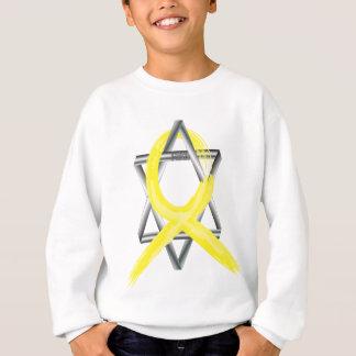 Bright Yellow Liver Cancer Survivor Ribbon Sweatshirt