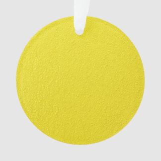 Bright Yellow Neon Trendy Colors
