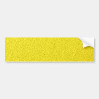 Bright Yellow Neon Trendy Colors Bumper Sticker