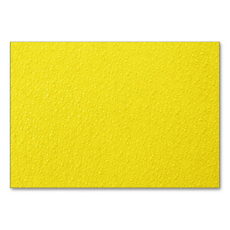 Bright Yellow Neon Trendy Colors Card