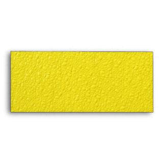 Bright Yellow Neon Trendy Colors Envelope