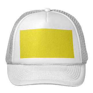 Bright Yellow Neon Trendy Colors Trucker Hat