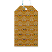 Bright Yellow Owls Gift Tags