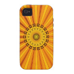 Bright Yellow Southwestern Style iPhone Case Case-Mate iPhone 4 Covers