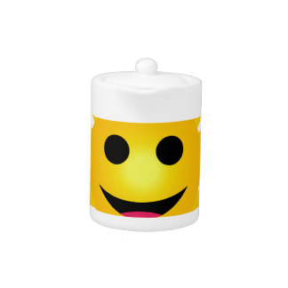 Bright yellow sun smiling