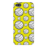 Bright Yellow Volleyball Pattern iPhone 5/5S Covers