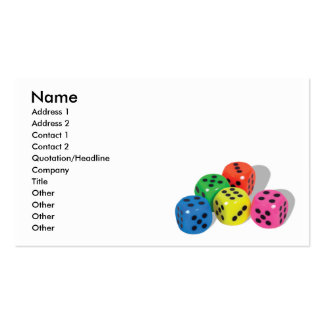 BrightChances, Name, Address 1, Address 2, Cont... Business Card Template