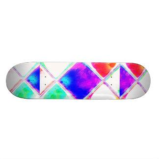Brighten Up And Go Skate! Skateboard Deck