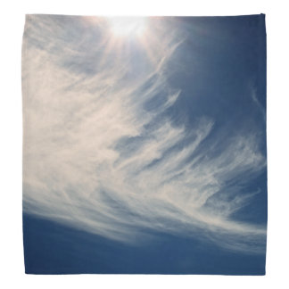 Brighten your Day!  Luminous Sun and Clouds Bandana