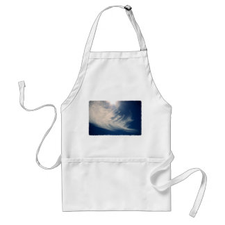 Brighten your Day!  Luminous Sun and Wispy Clouds Adult Apron