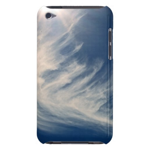 Brighten your Day!  Luminous Sun and Wispy Clouds iPod Touch Case-Mate Case
