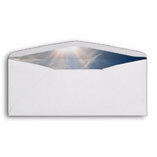 Brighten your Day!  Luminous Sun and Wispy Clouds Envelope