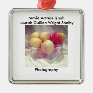Brighter Apples Metal Ornament