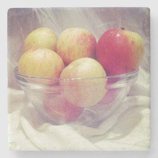 Brighter Apples Stone Coaster