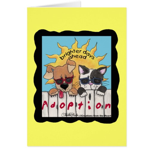 Brighter Days Ahead Card