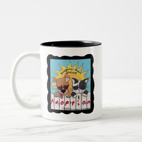 Brighter Days Ahead Two-Tone Coffee Mug