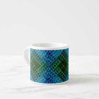 Brighter Days Weave 6 Oz Ceramic Espresso Cup