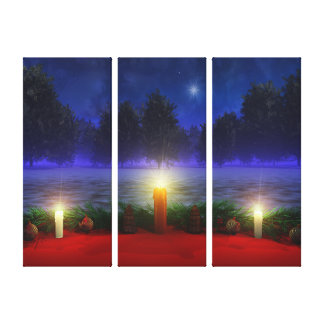 Brighter Visions Christmas Canvas Print