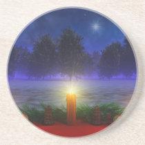 Brighter Visions Christmas Coaster