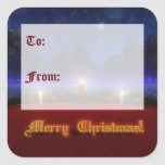 Brighter Visions Christmas Gift Tag Stickers