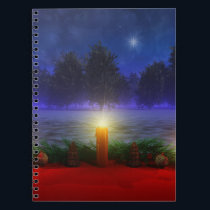 Brighter Visions Christmas Notebook