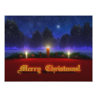 Brighter Visions Christmas Photo Print