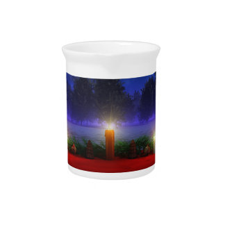 Brighter Visions Christmas Pitcher