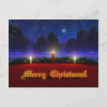 Brighter Visions Christmas Postcard
