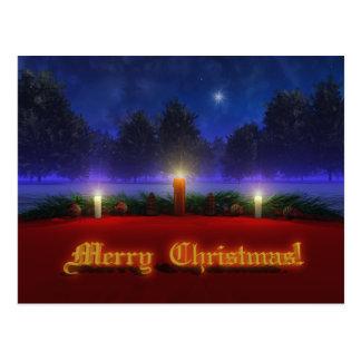 Brighter Visions Christmas Postcard