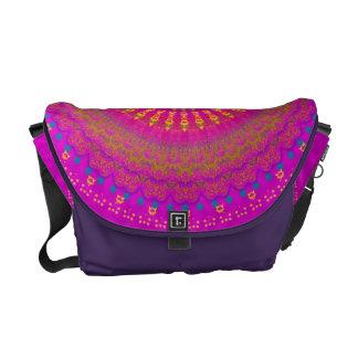 Brightest Blessings Mandala Messenger Bag
