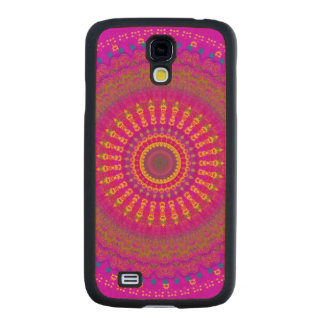 Brightest Blessings Mandala Carved® Maple Galaxy S4 Slim Case