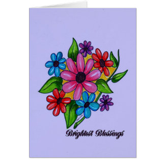 Brightest Blessings Spring Blooms Card