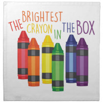 Brightest Crayon Napkin