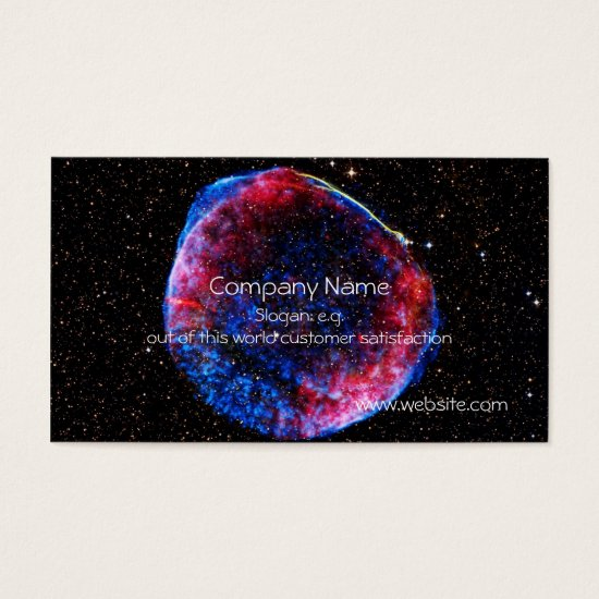 Brightest Supernova Ever space picture Business Card