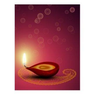 Brightful Diwali - Postcard