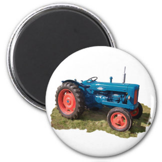 Brightly Colored Antique Vintage Tractor & Field Fridge Magnets