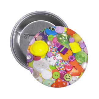 Brightly Colored Buttons
