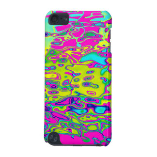 Brightly Colored Crazy Colorful Abstract Pattern iPod Touch (5th Generation) Cover