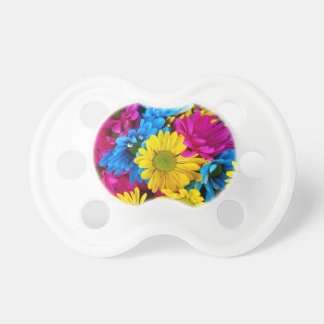 Brightly Colored Daisies Pacifier