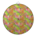 Brightly Colored Dots Dart Boards
