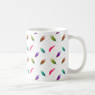 Brightly Colored Feathers Coffee Mug