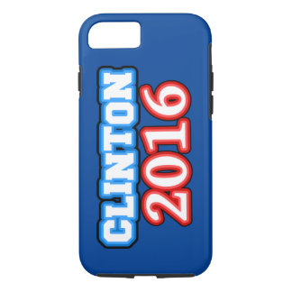 Brightly Colored Hillary Clinton 2016 iPhone 8/7 Case