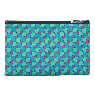 Brightly Colored Islamic Pattern Accessories Bag