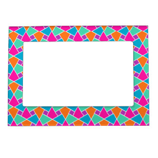 Brightly Colored Islamic Pattern Photo Frame