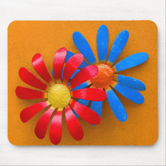 Brightly Colored Sunflower Decoration Mouse Pad